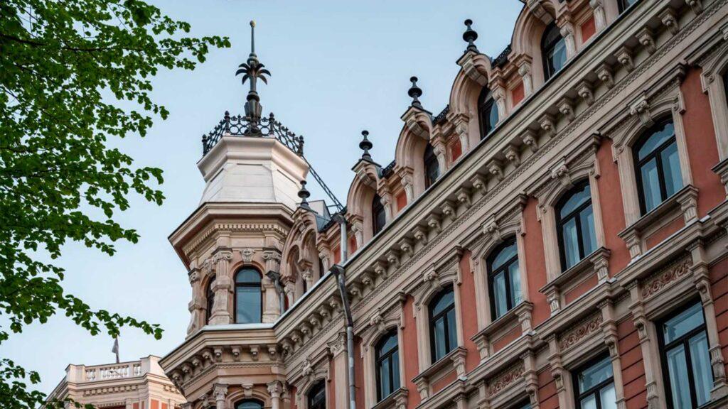 Kaunis rakennus